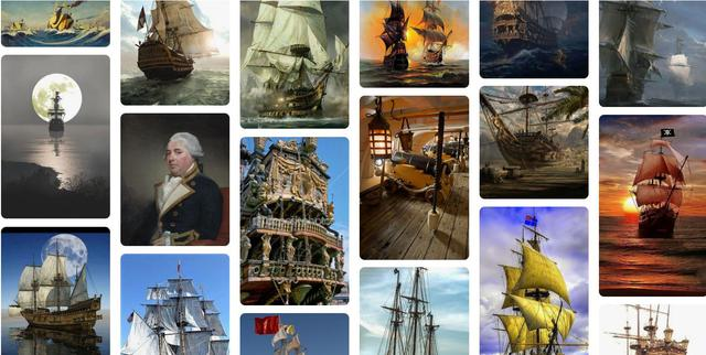 Double click to see an excellent collection of naval history graphics on Pinterest