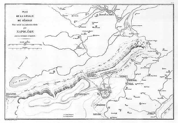 map of the battle of Sediman 1803