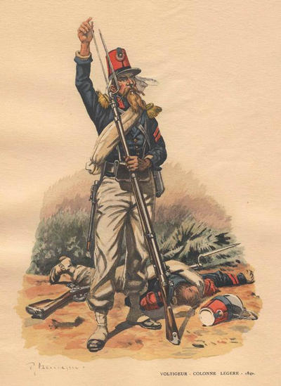 Foreign Legion Voltiguer light infantry 1840