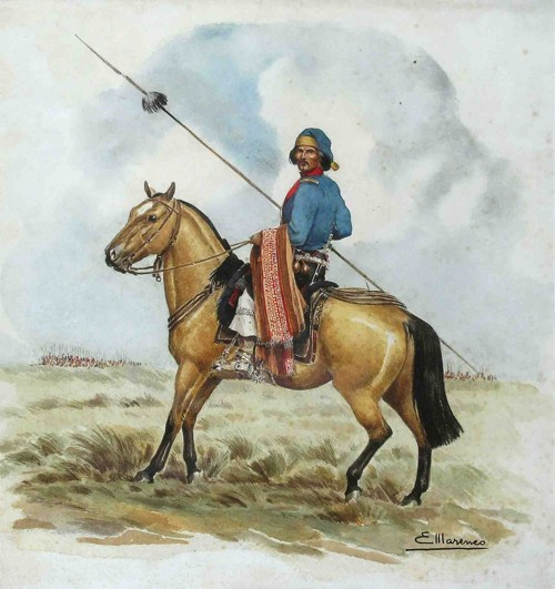 Gaucho cavalry of the Pampas