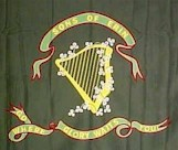 Fenian flag carried during the abortive invasion of Canada 1866