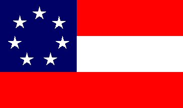 first rebel flag
