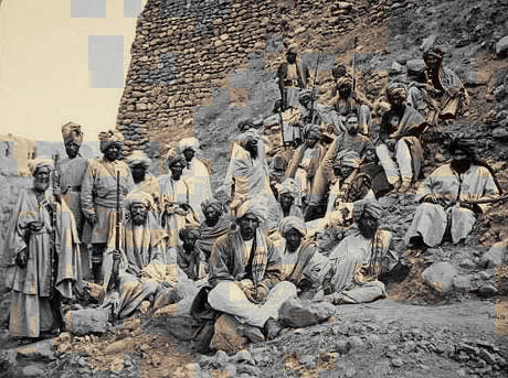 afghan tribesmen later C19