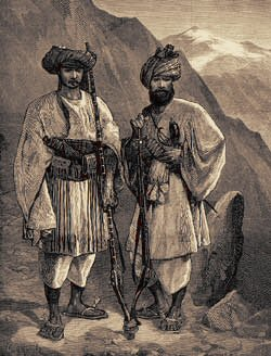 tribesmen of 1880