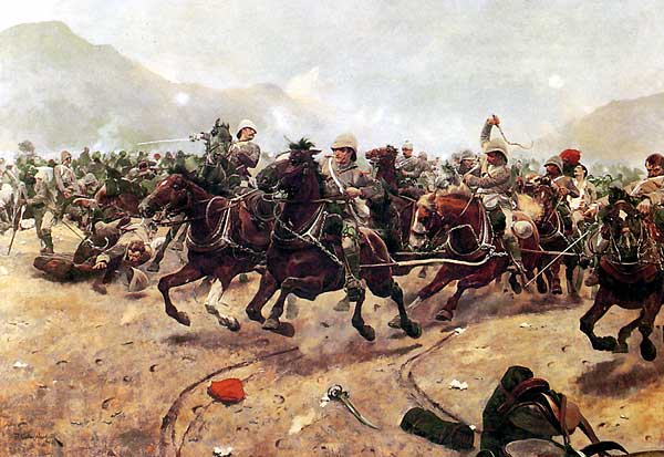the guns escape from Maiwand 1880