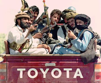 modern day warriors of afghanistan - the Taliban