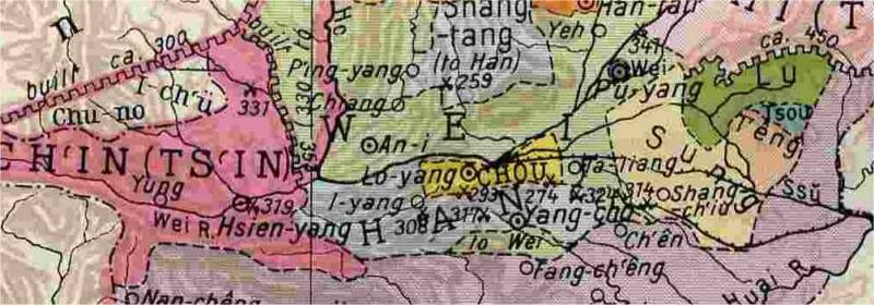 city states in the yellow river valley