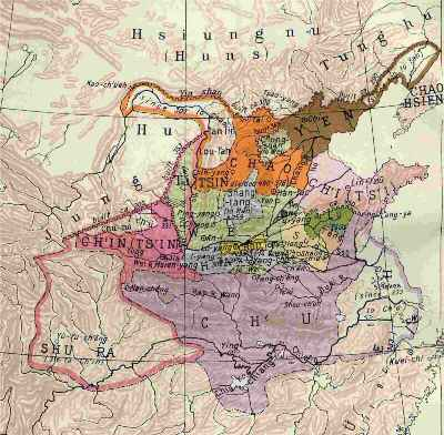 ancient battlefields of north china