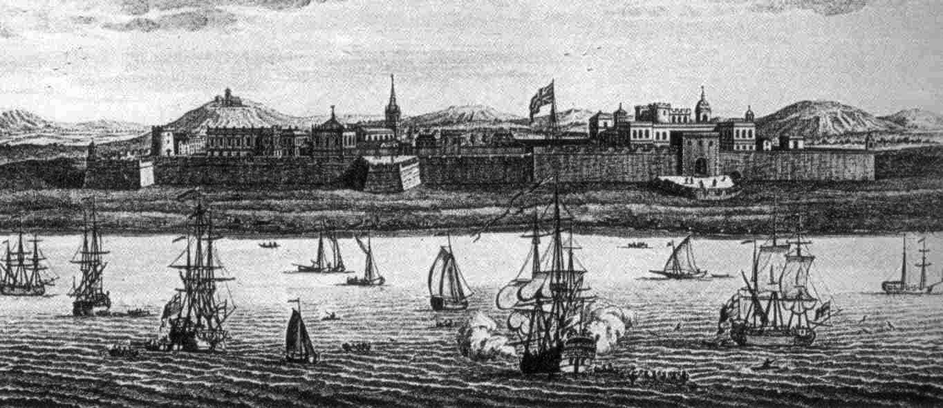 colonial fort - probably Madras