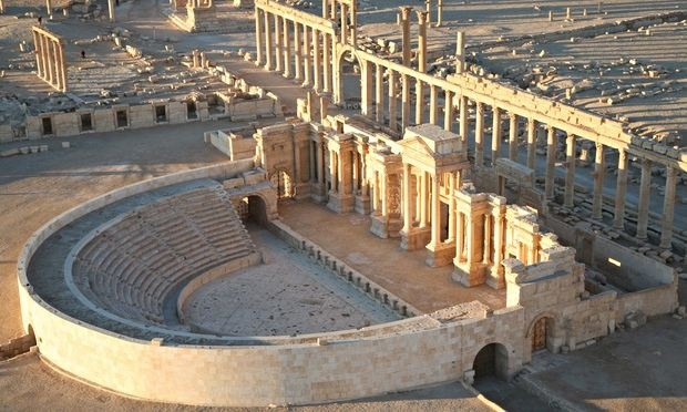 Palmyra before its destruction by DAESH