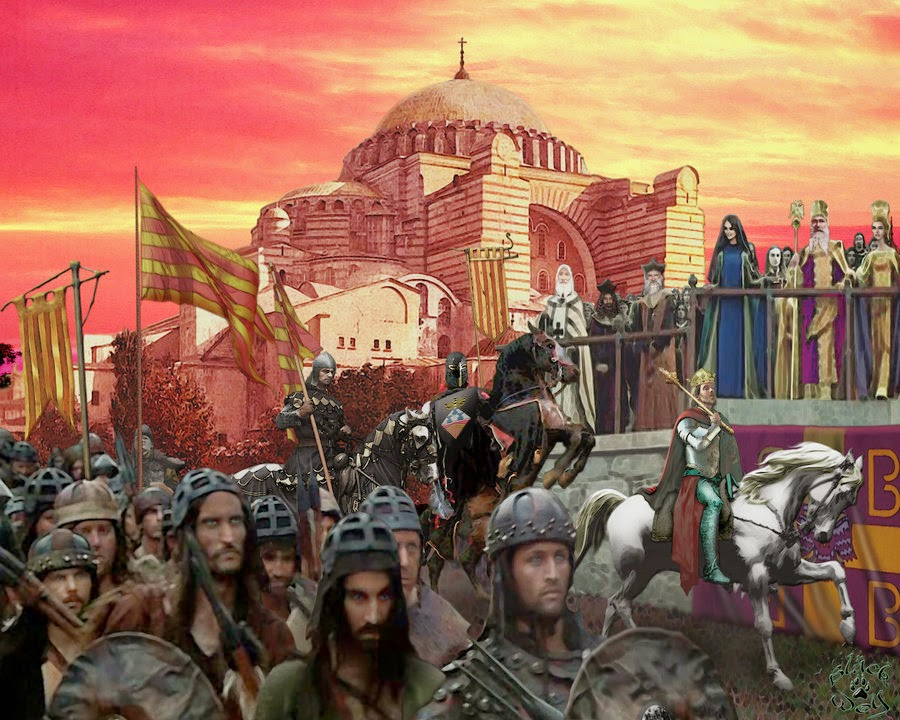 Catalan mercenaries enter Constantinople