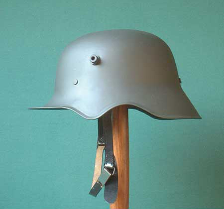 the 1918 pattern helmet - few of these were made