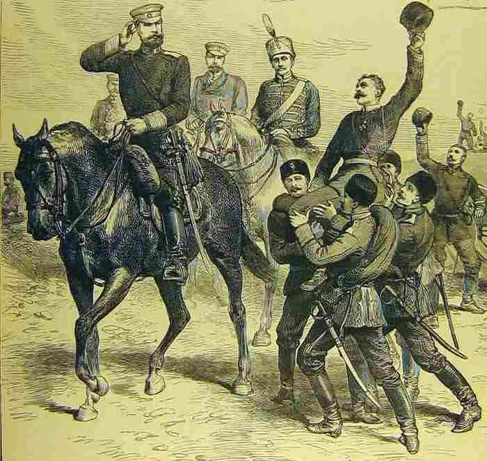 Bulgarians victorious over the Serbs at Slivnitsa 1885