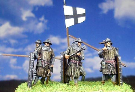 Crusader crossbowmen - possibly mercenaries