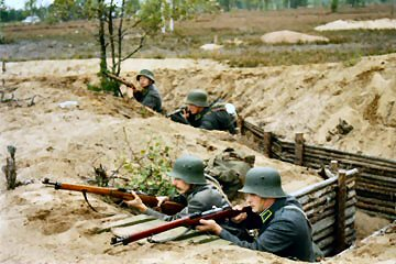 Finnish trench 1940