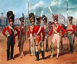 Coldstream Guards 1821