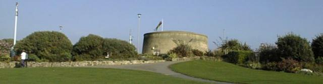 coastal defence fort in southern england