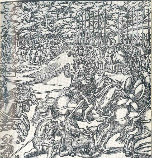 Irish galloglas and other troops of 1581