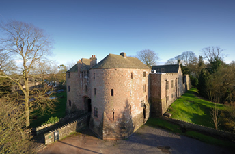 St Briavels castle on the English border