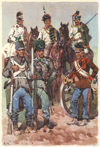 assorted Austrians of 1866