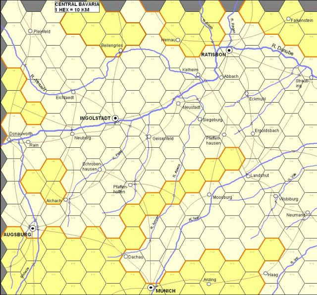 double click for hex map of Bavaria