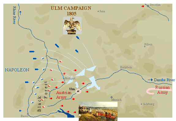 Napoleons masterly Ulm campaign of 1805