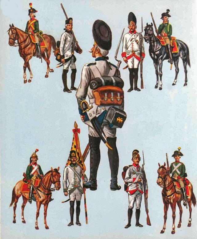austrian troops 1792-1815