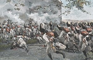 Austrian grenadiers assault 1809