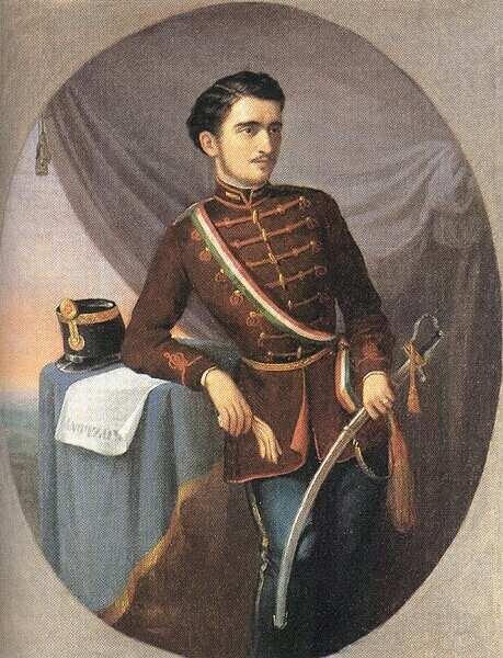 Honved officer 1848