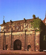 The Upland Gate in Danzig - Gdansk