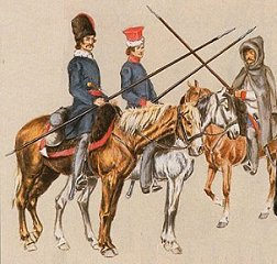 Polish light horse in campaign dress