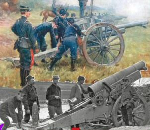 French guns of WW1