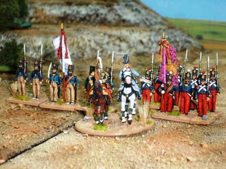 Cristino troops of the first Carlist War 1832-4