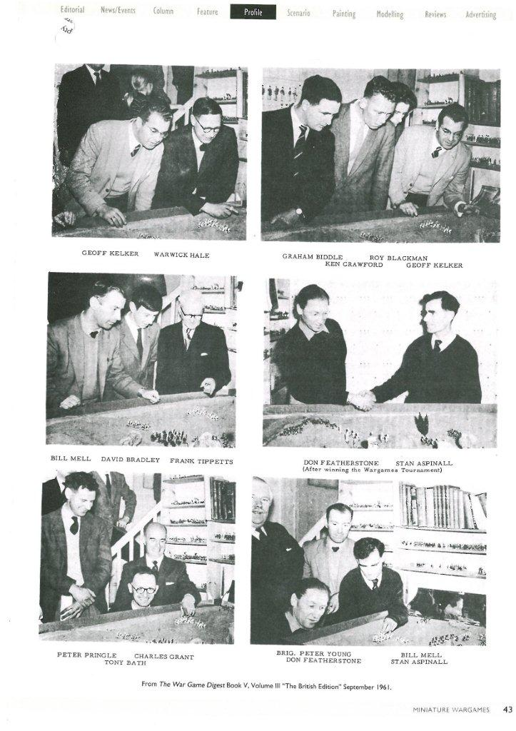 Don Featherstone and the pioneers of UK wargaming in the 1960s