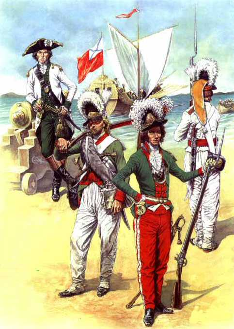 russian marines of the 1790s