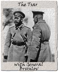 Brusilov was a comparatively innovative general who mounted a partially successful offensive in 1916