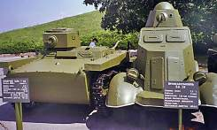 russian tank and AC of 1936