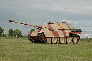 the King Tiger ruled the battlefield in 1945, but very few were built and they were too heavy to cross bridges etc.