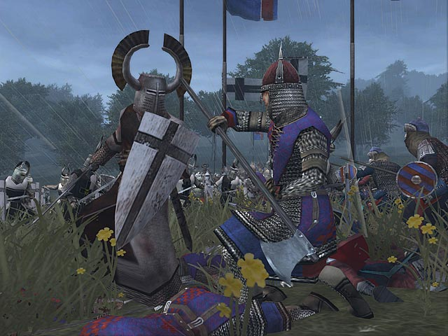 Nevski combats the Teutonic Knightd