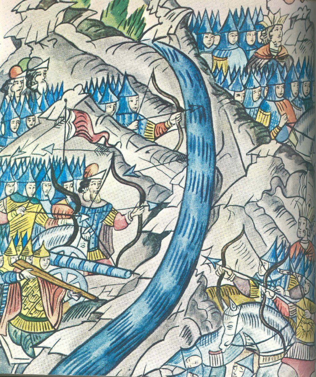 C15 battle between Novgorod and Suzdal