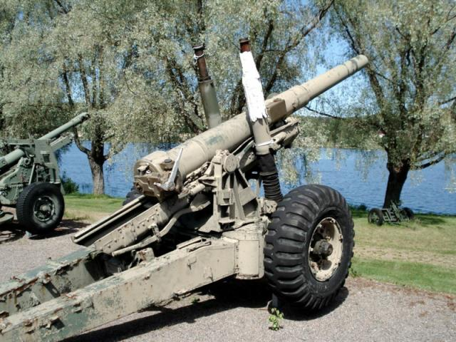 British medium gun of WW2