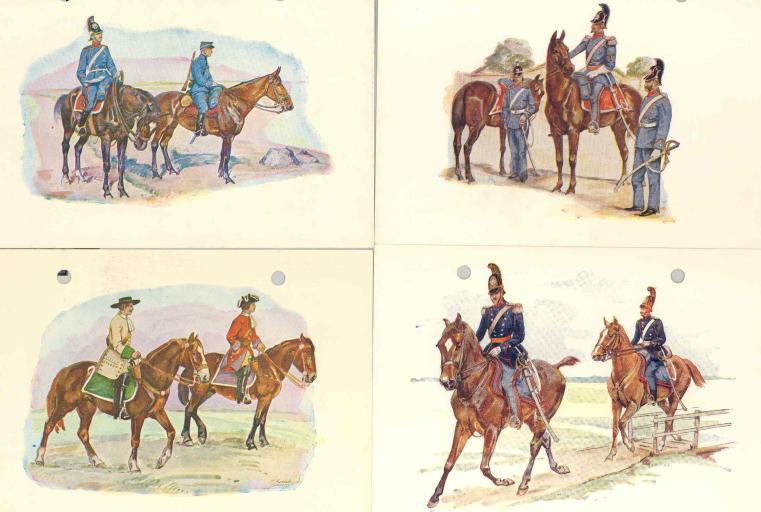 danish cavalry through the ages