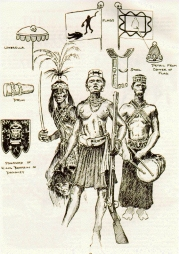 Dahomean troops of the late nineteenth century