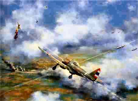 French attack Angkor airfield 1941