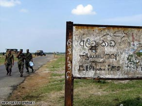 the Elephant Pass causeway to the Jaffna Peninsula was the scene of the first attack of the war