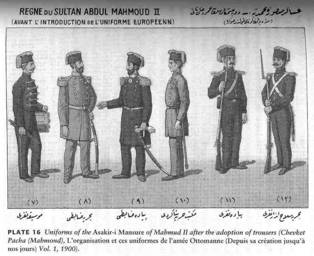 New model troops of Mahmud II prior to 1840