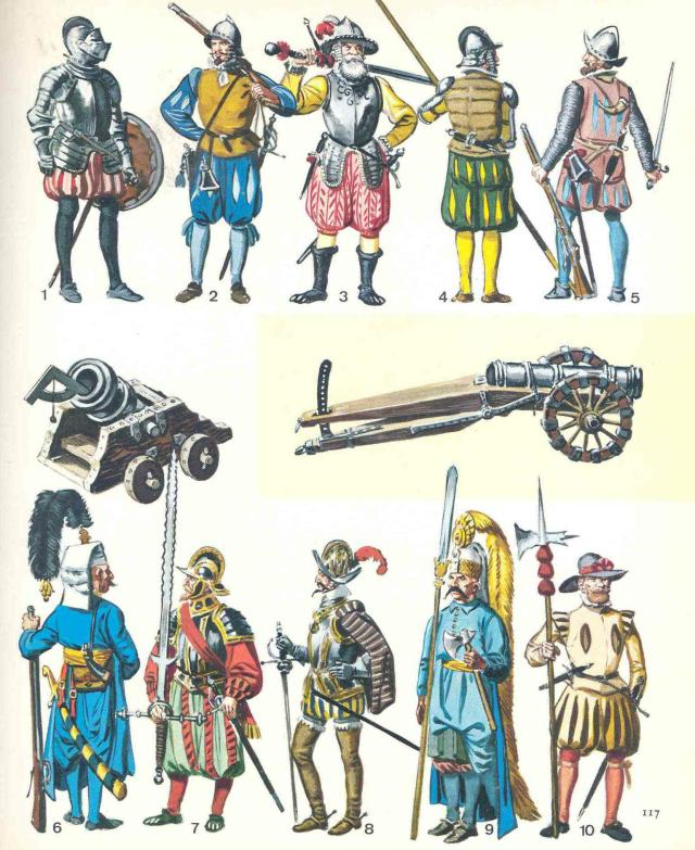 janissaries and other Renaissance troops