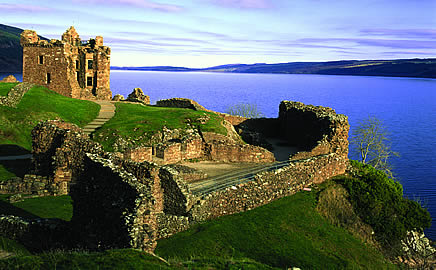 The lochside stronghold of Castle Urquhart