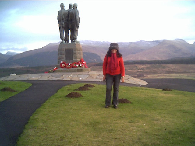 monument to WW2 Commandos, at their old training ground near Spean Bridge