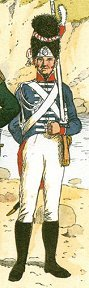 Baden Guard Grenadier 1812